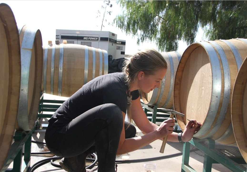 Young Women Winemakers
